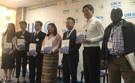 Report on Beijing's Air Pollution control launched at UNEA-4