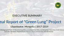 "Final Report of ""Green Lung"" Project"