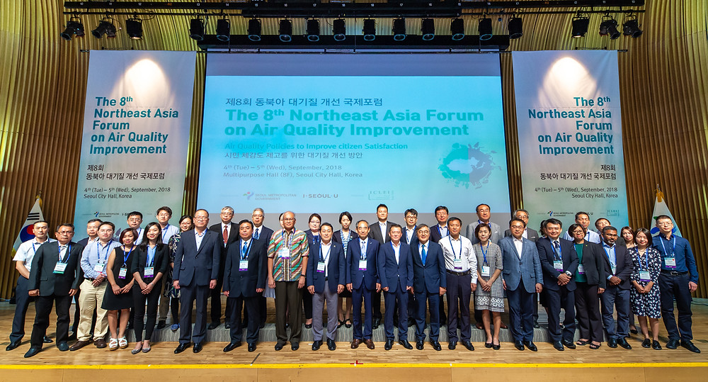 The 8th Norhteast Asia Forum on Air Quality Improvement successfully hosted in Seoul, Korea.
