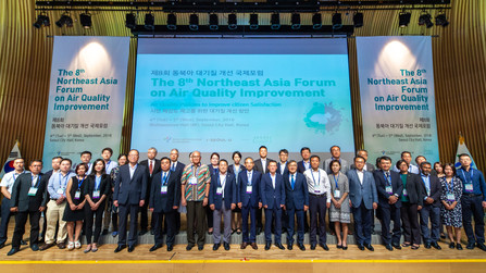 8th Northeast Asia Forum on Air Quality Improvement hosted in Seoul
