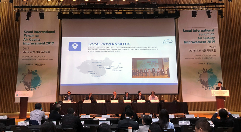 EACAC has 10 member cities from the East Asian region.