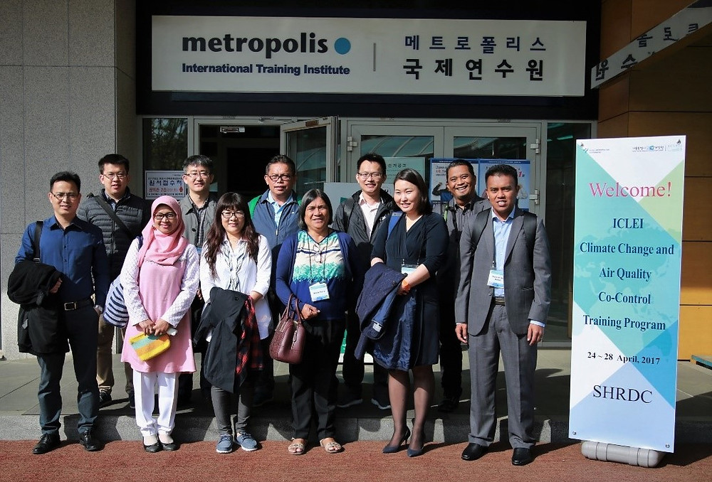 11 public officials from 9 ICLEI Members in Asia attended  the training.