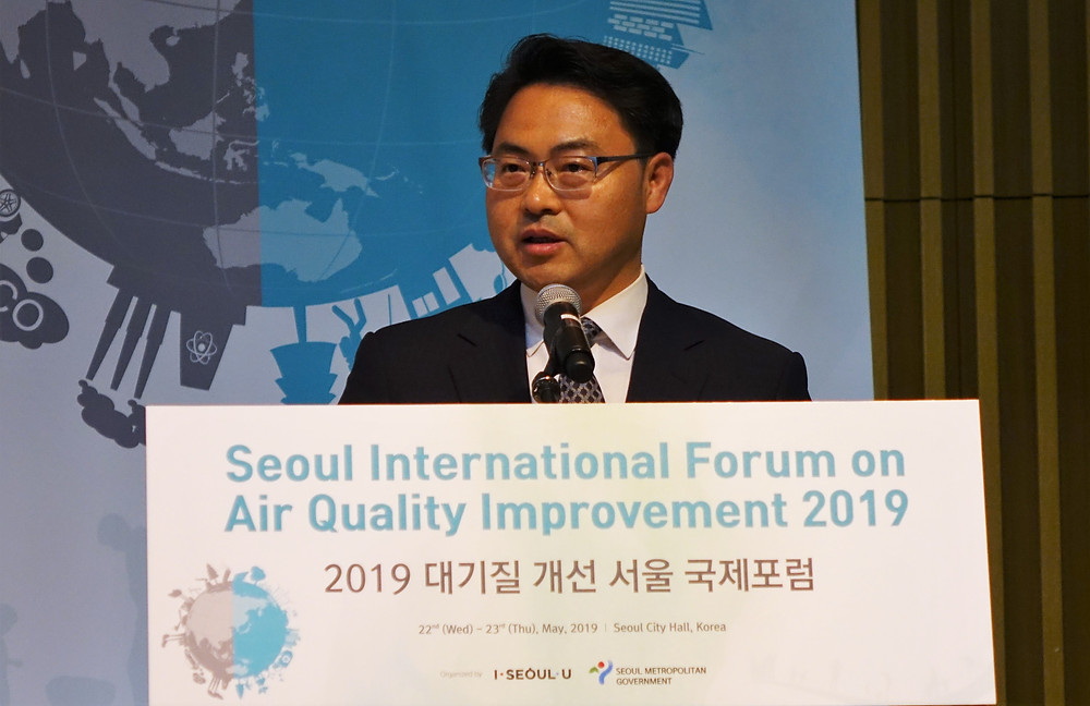 Hwang Bo-yeon, Vice Mayor of Seoul, delivered closeing remark.