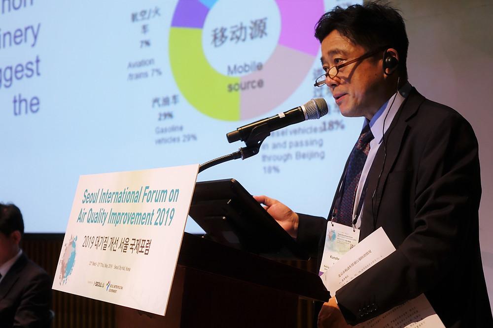 Kunsheng Li, Director of Vehicles Emission Management Divison, Beijing Municipal Bureau of Ecology and Environment.