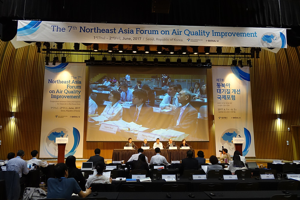 EACAC partners encouraged local governments to share their achievements in air quality improvement through international platforms.