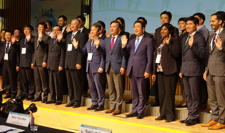 East Asian Cities gathered at the Seoul International Forum on Air Quality Improvement