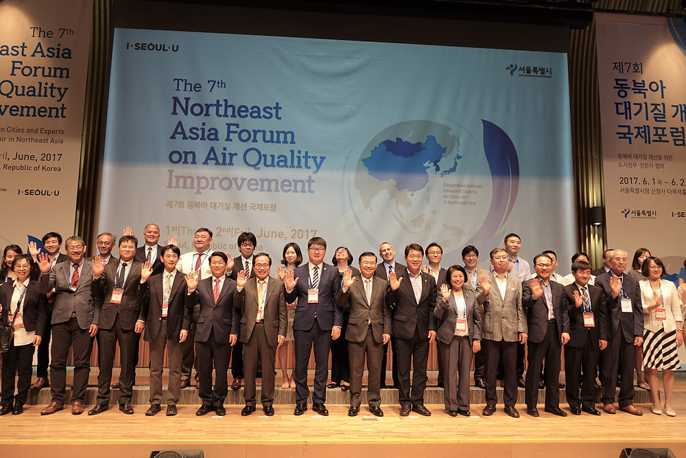 East Asian cities committed to air quality improvement.