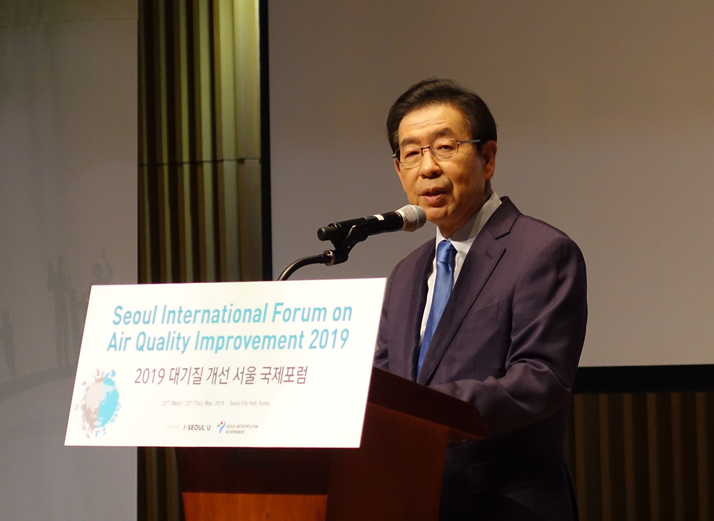 Seoul Mayor Park Won-soon