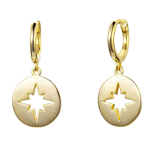 Pendiente Estrella Viento