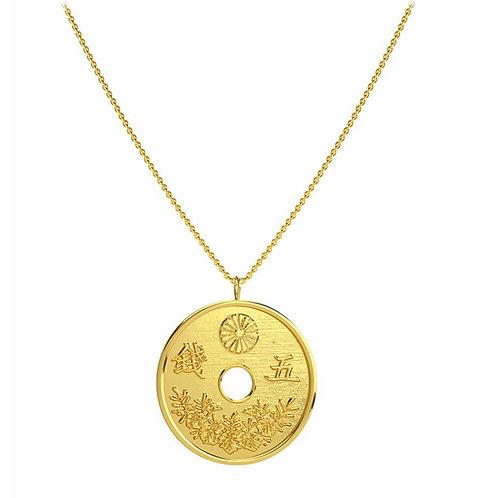 Collar Moneda Oro
