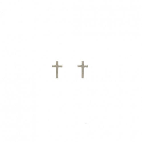 Pendientes Cruces Plata
