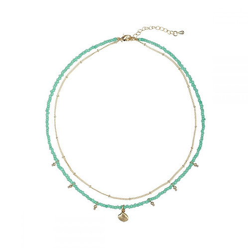Collar Marbella Turquoise