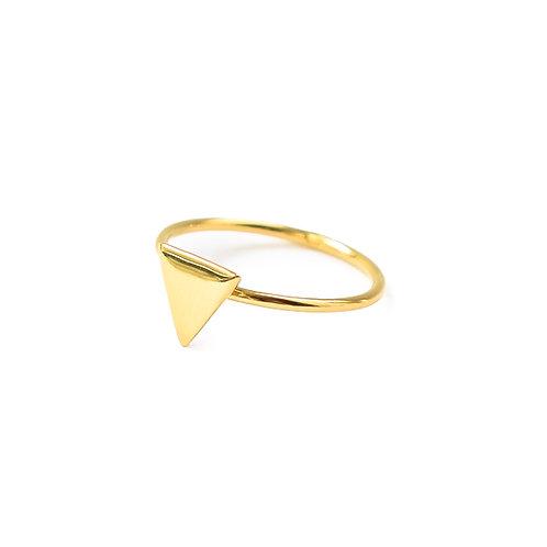 Anillo Triángulo Oro