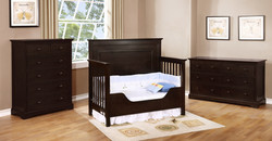 Waterford Panel Toddler Conversion Kit with Waterford Collection Graphite Grey