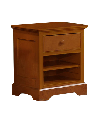 Waterford Nightstand Rustic Pecan