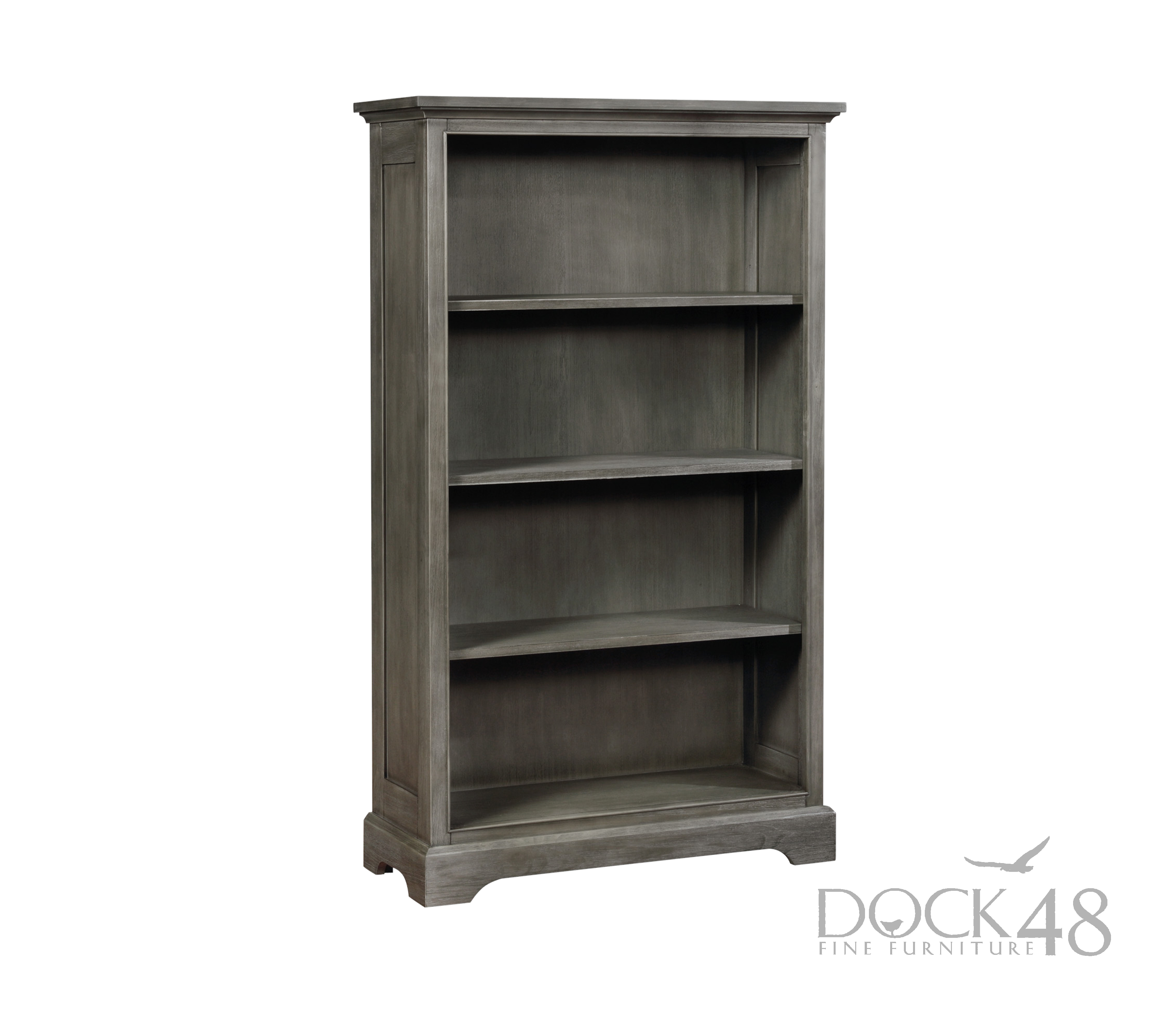 Waterford Vertical Bookcase Weathered Grey
