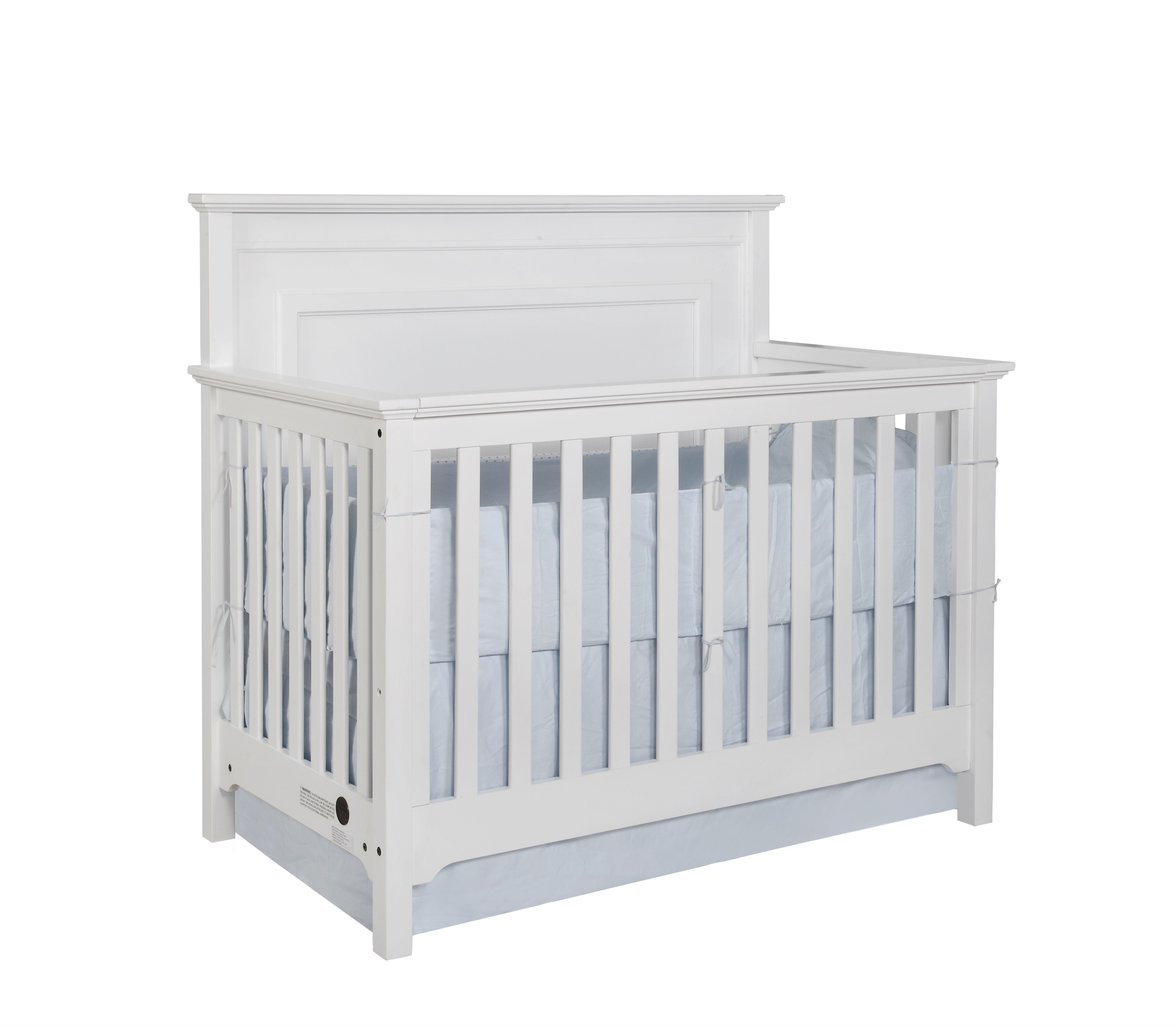 Waterford Panel Conversion Crib White