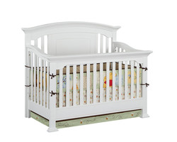 Jordan Conversion Crib White