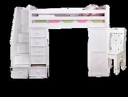 Student Loft Loft Bed with Desk
