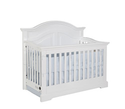 Waterford Curved Panel Conversion Crib White