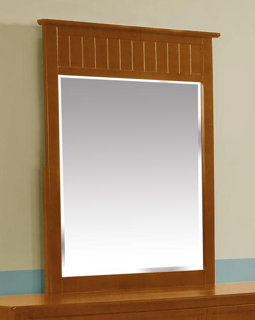 Summerlin Mirror Rustic Pecan