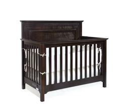 Waterford Panel Conversion Crib Graphite