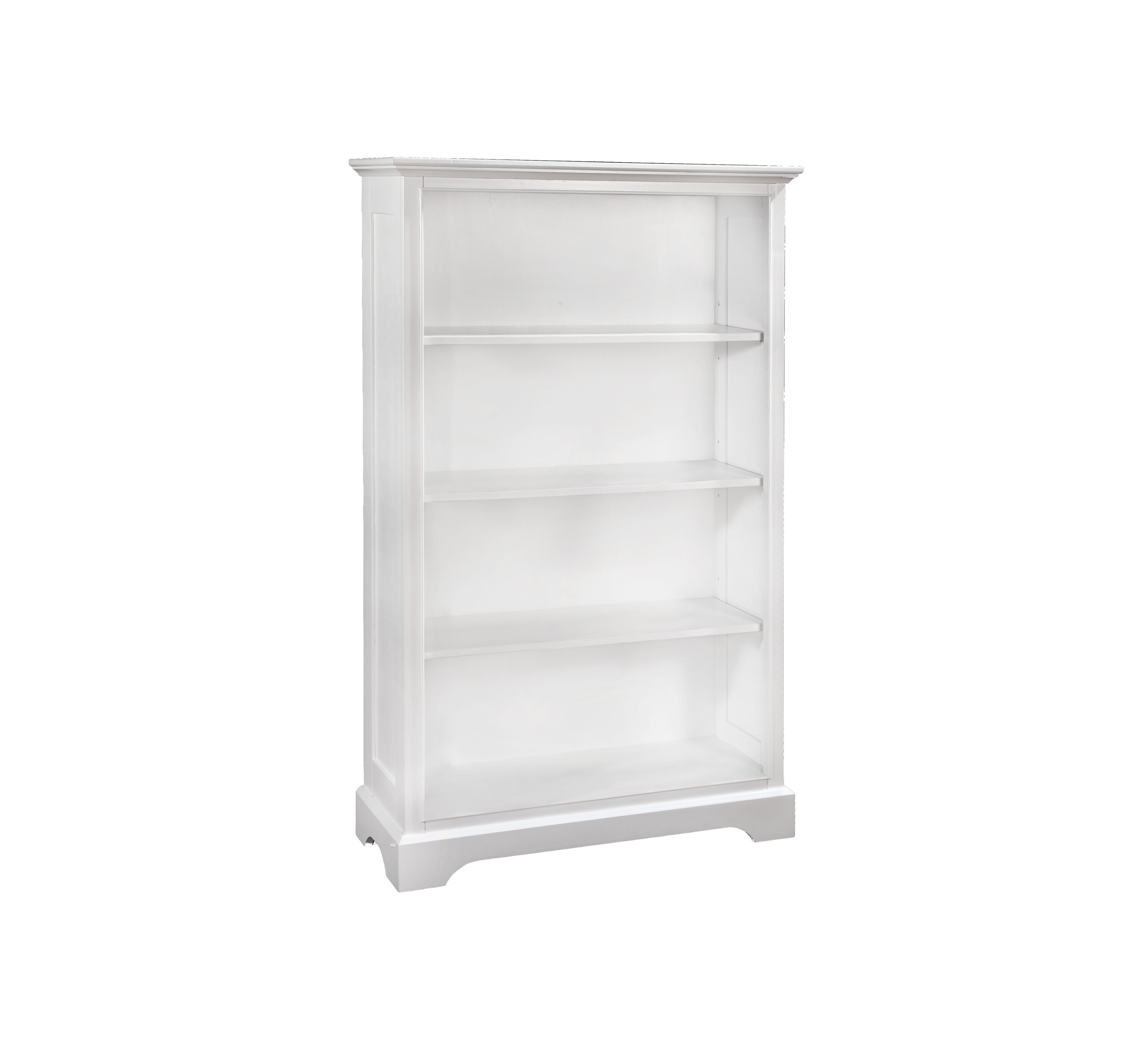 Waterford Vertical Bookcase White