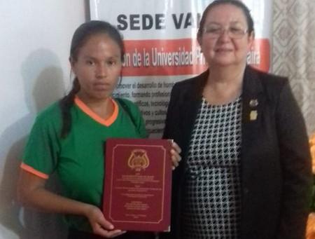 Paraguay: la laurea di un'assistita H&T Onlus
