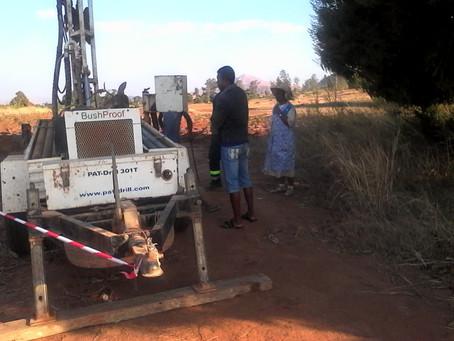 Isoanala: iniziati i lavori per il pozzo