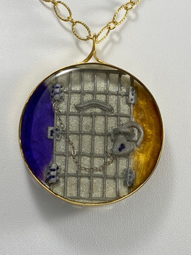 Jailed for Votes Pendant