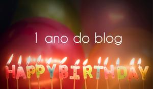 1 ano do Blog.