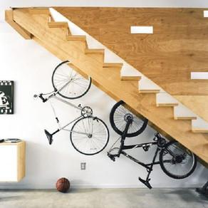 Como guardar sua bike