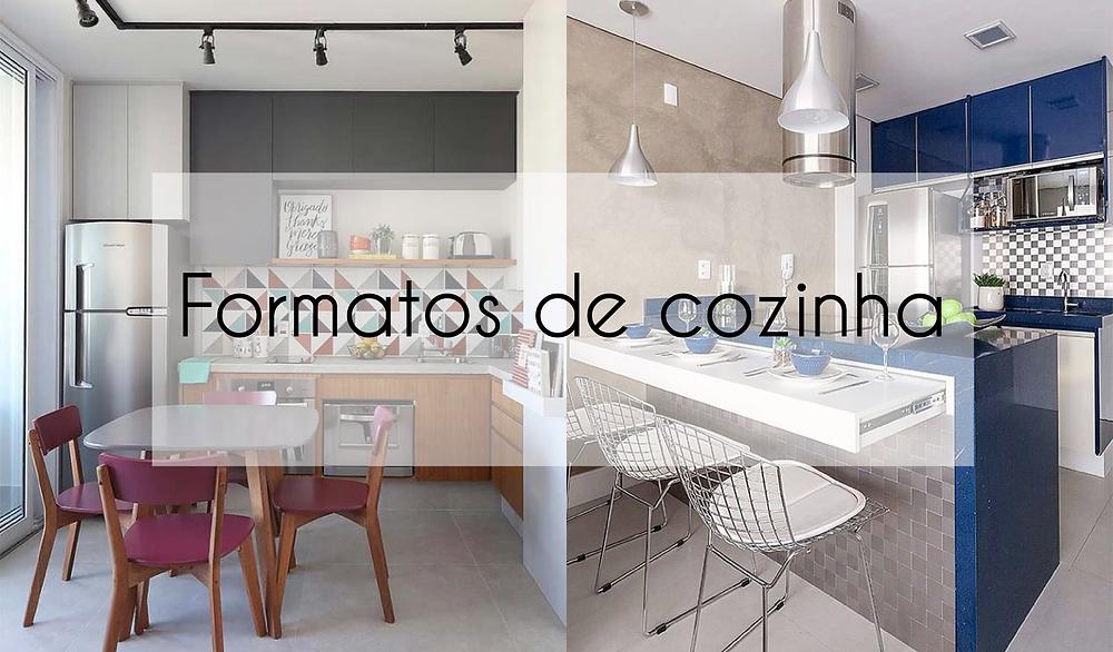 Formatos de cozinha