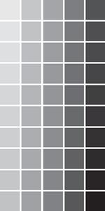Valores de cinza.