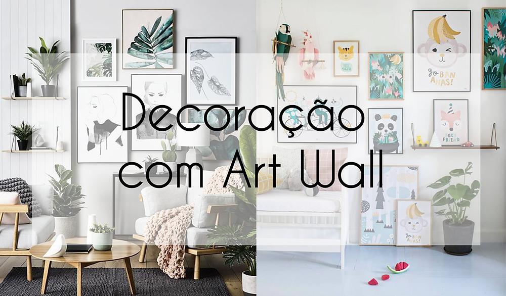 Decoração com Art Wall