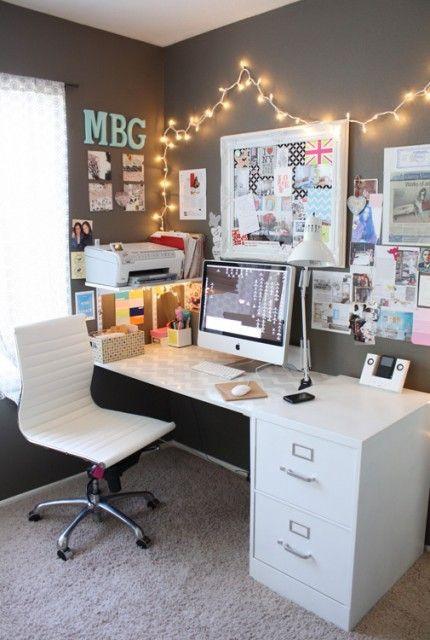 Escritório home office.