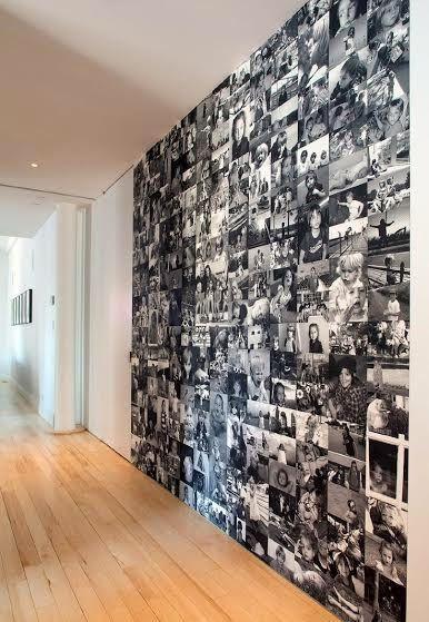 Papel de parede de fotos.