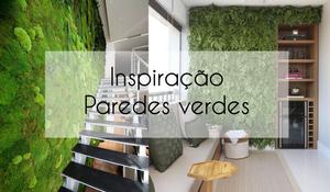 Inspiração - Paredes verdes