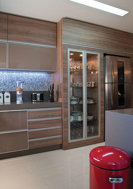 Louceiro na cozinha. Projeto: SBStudio Arquitetura + Interiores.