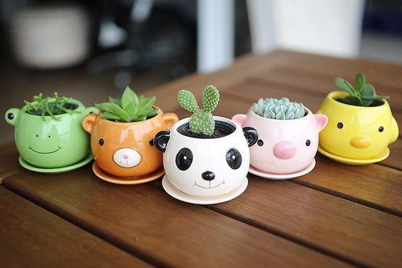 Vasinhos de bichinhos. Foto: justlia.com.br