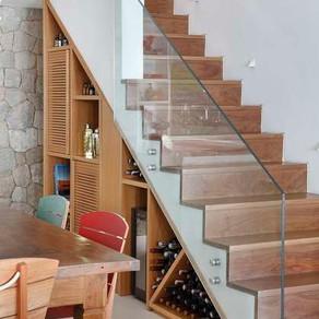 8 ideias para o espaço abaixo da escada
