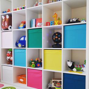Organização de quartos infantis
