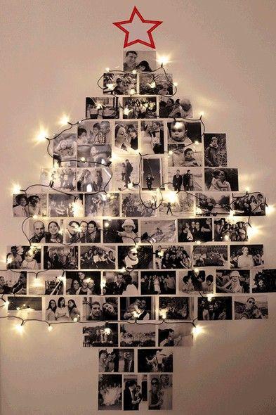 Árvore de fotografias.