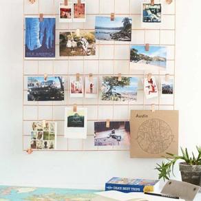 9 decorações super fáceis com fotografias