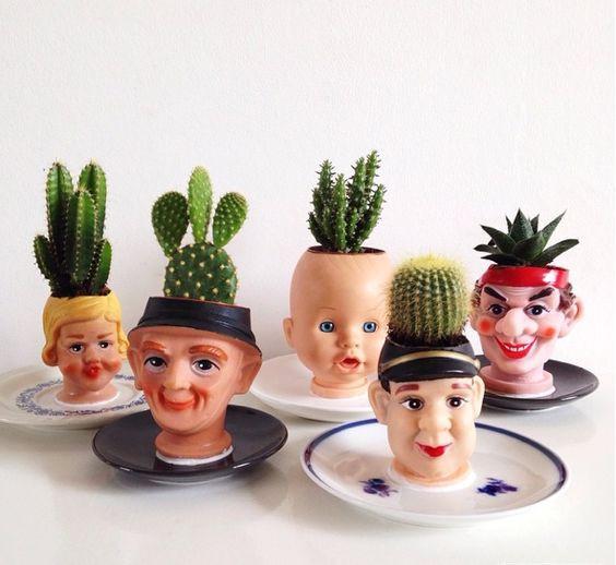 Vasinhos cabeça de boneca. Foto: moodkids.com