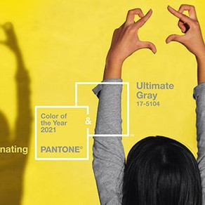 Paleta de cores para 2021