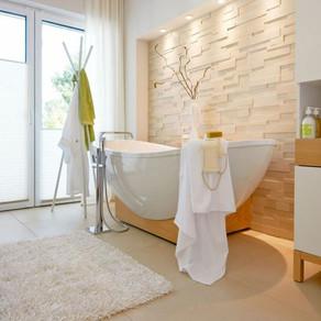 Inspiração - Banheiros com banheiras