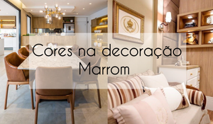 Cores na decoração - Marrom