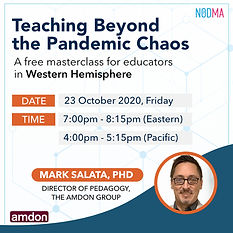 Teaching Beyond the Pandemic Chaos