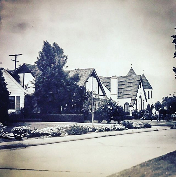 North Park Boulevard back in the 1930s.